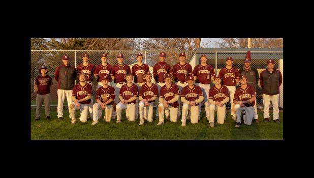 Springfield Tigers Tomahawk Conference Baseball Champions