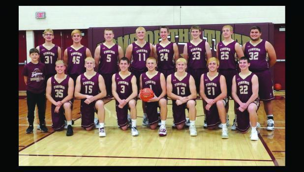 Springfield Tiger Varsity Basketball Team