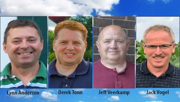 Candidates running for Brown County Commissioner Fifth District.