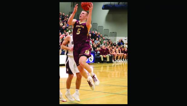 Decker Scheffler led the team scoring 23 points in the Section 2A game against Mt. Lake-Comfrey.
