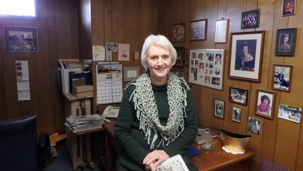 Doris Weber celebrates 60 years at the Springfield Advance-Press.