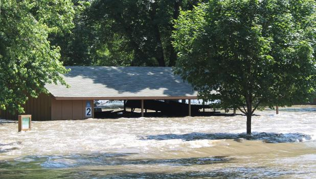 Thunderstorms that poured heavy rain on already saturated soil caused flash flooding in southwestern Minnesota last week and sent the Big Cottonwood River on a rampage once again.