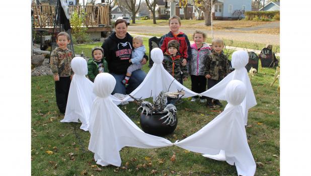 Dancing ghosts for Halloween