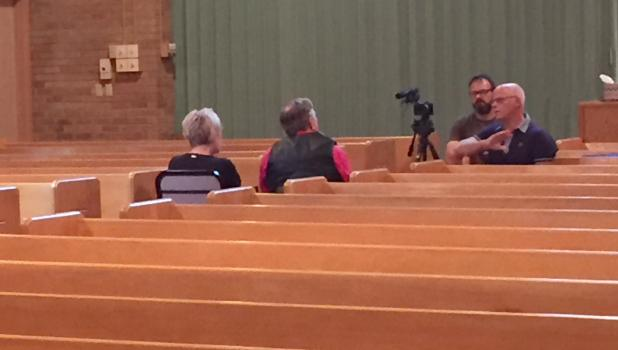 Kay Anderson Pingeon and James Anderson, of Springfield were among many interviewed for the documentary.