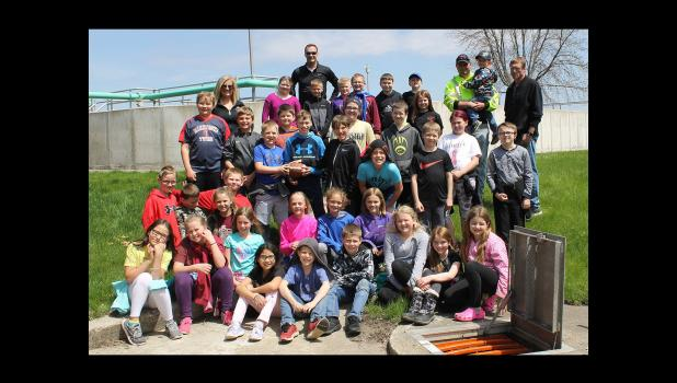 Fourth-graders in Springfield Public Schools, in classes taught by Bob Fink and Jill Moriarity, visited local Public Utilities facilities —