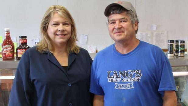Kim and Pat Lang to retire and close Lang's Meat Market after nearly 40 years.