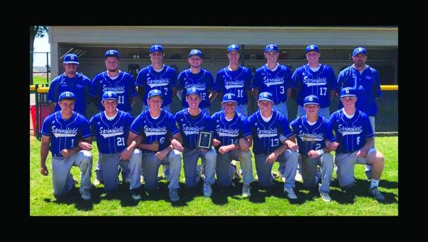 The Springfield American Legion baseball team