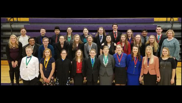 River Valley Speech Team Subsection Champs