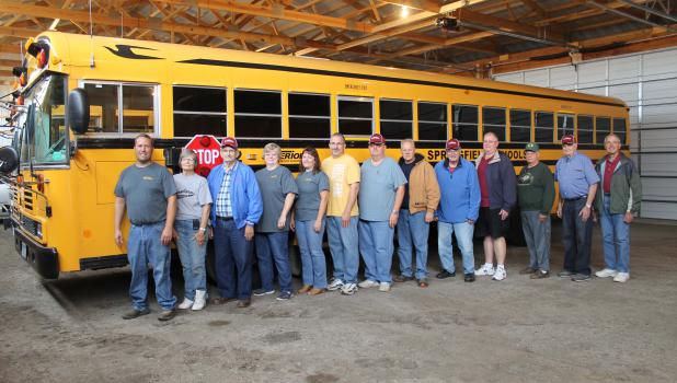 Superior Transportation was ready to roll on Monday Aug. 24