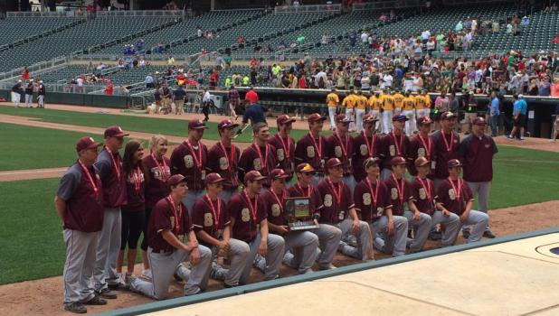 Springfield Tigers Baseball Team is runner-up in State Class A tourney