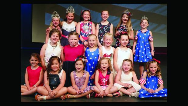 Little Miss/Junior Miss Riverside candidates