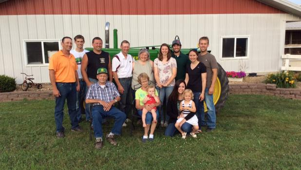 "The University of Minnesota has named Sleepy Eye's Rosenhammer family Brown County's ""2020 Farm Family of the Year""."