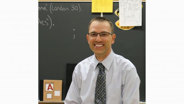 Springfield 2017 Teacher of the Year Mark  Buerkle