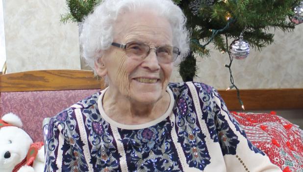 Verna Mude at 100 years