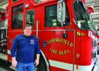 After 35 years serving the community Fire Chief Chuck Baumann is retiring in March.