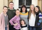 Gigi Bliss and her children — Grace, Kolten, Lily, Jozie, Kelsey and Emma