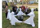 Dancing ghosts for Halloween