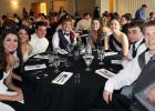 Springfield High School celebrated 2015 Prom Saturday night beginning with a banquet at the Springfield Area Community Center.    Pictured at the banquet, from left: Courtney Place, Jena Roiger, Michael O'Callaghan, Aaron Beussman, Callie Wersal, Amber Fenger, Tristan Johnson and Tyler Vogel.