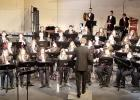 Springfield High School Concert Band pictured during March 20 Spring Concert. Stephen Seaberg is Instrumental Music Instructor and Band Director.