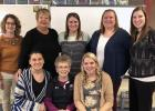 Springfield Public School Early Childhood Educators —front, from left: Melonie Heiling, Sharon Ferdinandt and Briana Jensen. Back:  Margie Potter, Jan Simonsen, Amber Vogel , Mandi Kuehn and Jena Veenstra.  Not pictured: Jen Schultz, Julie Hoek and Tori Amsden.