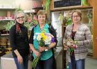 Springfield Floral has set Grand Opening for Friday and Saturday, March 28 & 28.  Char Frank, new owner,  is pictured, at left, with employees, Laurie Ourade and Julie Hayden.