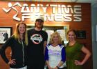 Trevor and Erin Wittwer be taking over the Anytime Fitness Clubs in both Springfield and Sleepy Eye. The Wittwer's are pictured with former owner Colleen Braun and new manager Sara Schwarzrock.