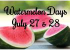 Sanborn to host 84th Annual Watermelon Days